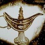 Волшебная лампа, студия рисования песком иарт-терапии