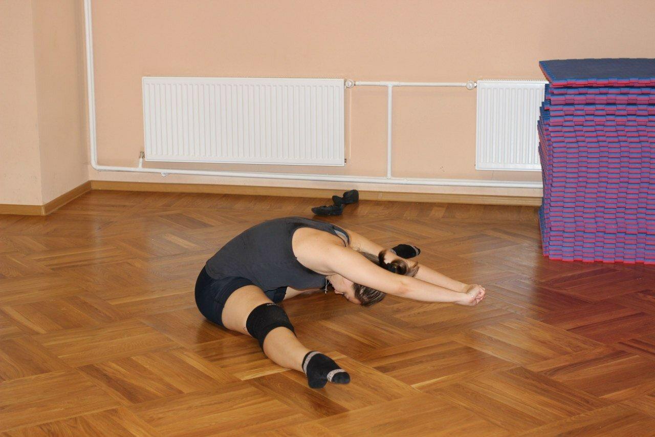 Партерная гимнастика: