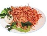 Союз (говядина отварная, морковь отварная, яйцо, картофель пай, соус «Тар-тар»)