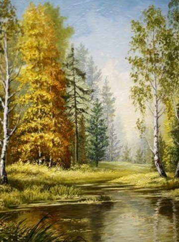 Пейзажи Томской области